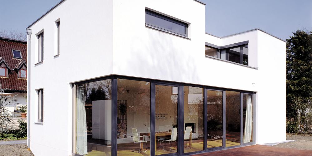 modernes wohngeb ude ziegelwerke leipfinger bader. Black Bedroom Furniture Sets. Home Design Ideas