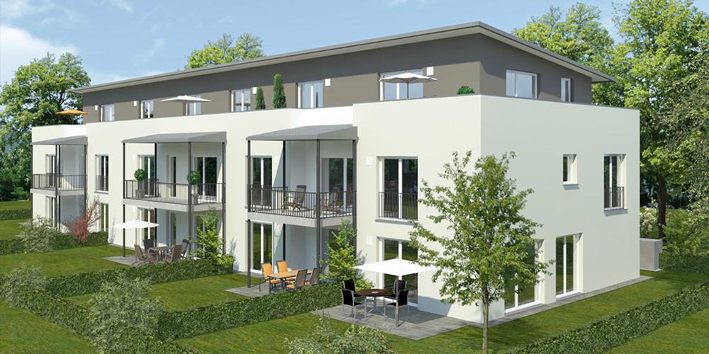 Thermenpark in erding ziegelwerke leipfinger bader for Mehrfamilienhaus modern