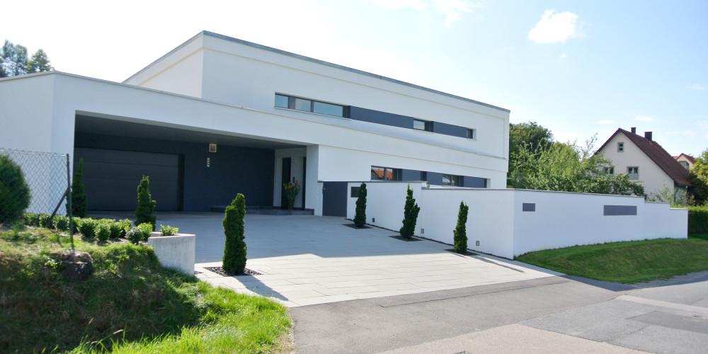 Passivhaus modern  Modernes Passivhaus - Ziegelwerke LEIPFINGER BADER