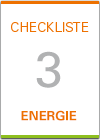 Checkliste 3: Energie