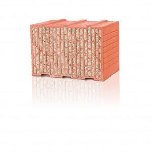 """Flexibler Allrounder: Der neue Mauerziegel """"Unipor WS08 Coriso"""" von Leipfinger-Bader überzeugt auf der ganzen Linie. Mit seinen hervorragenden Wärme- und Schallschutzwerten empfiehlt er sich für diverse Bauvorhaben – vom mehrgeschossigen Wohnungsbau übers Einfamilienhaus bis zum Industriegebäude."""